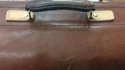 repairing a vintage bag
